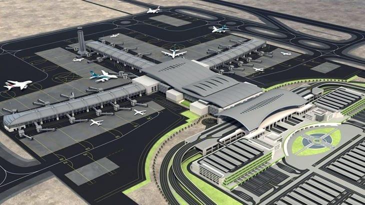Il rendering dell'aeroporto di Muscat