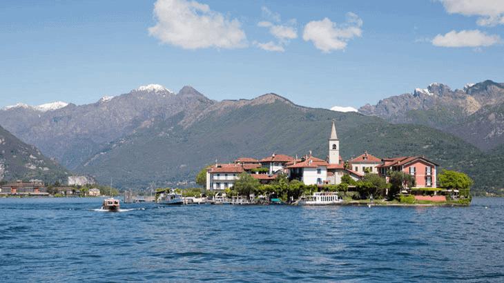 Vista da Baveno, sul Lago Maggiore, sede di WCPAM2017