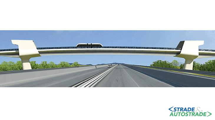 Il render del ponte sulla A14
