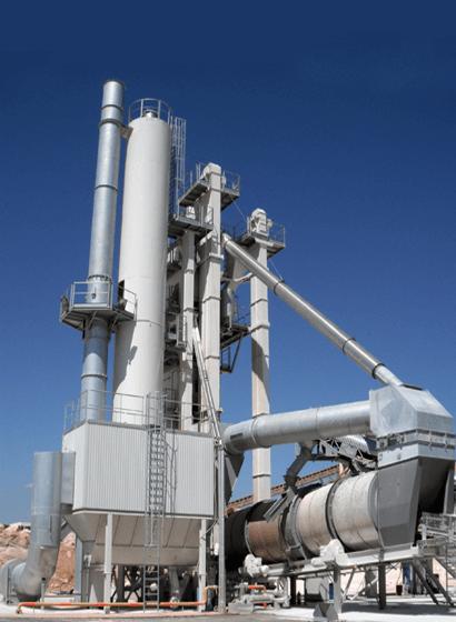 Un impianto Ammann UB180 con applicazione RAH50