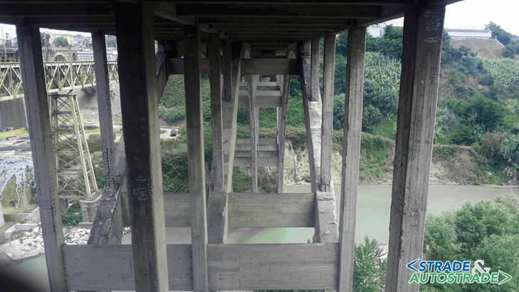 Le fasi di ispezione e monitoraggio del ponte