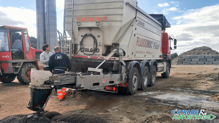 L'impianto Blend in cantiere