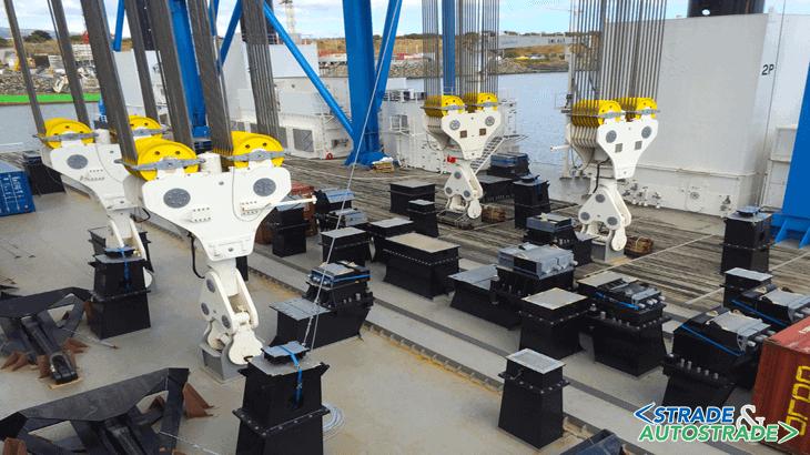 L'OHTC con capacità di sollevamento di 4.800 t
