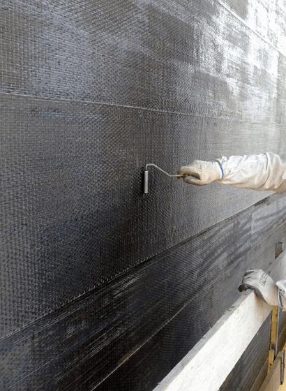 Il rinforzo delle pile con fasce in fibra di carbonio Kimitech CB 320