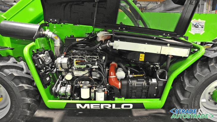 Il nuovo P30.10 adotta un motore potente e all'avanguardia, un Deutz TCD 2.9 Tier 4 Interim 55 kW