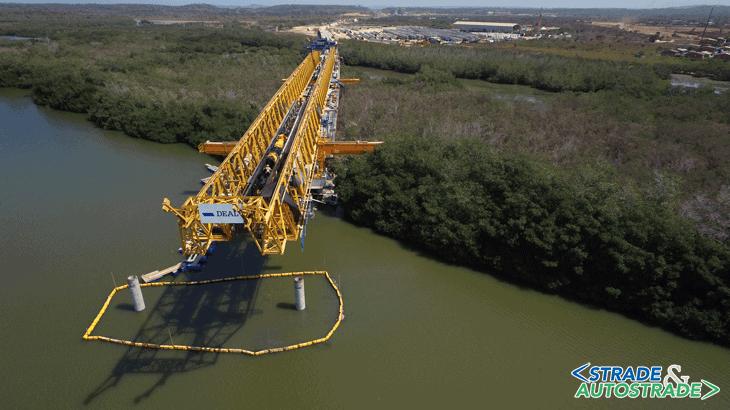 Il viadotto Gran Manglar di Cartagena, opera facente parte del progetto per la realizzazione dell'autostrada tra Cartagena de Indias e Barranquilla