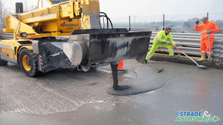 Il getto del betoncino fibrorinforzato