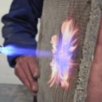 La capacità di resistenza al fuoco del Concrete Canvas