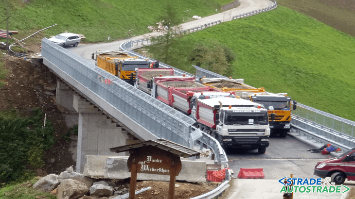 Il collaudo del ponte