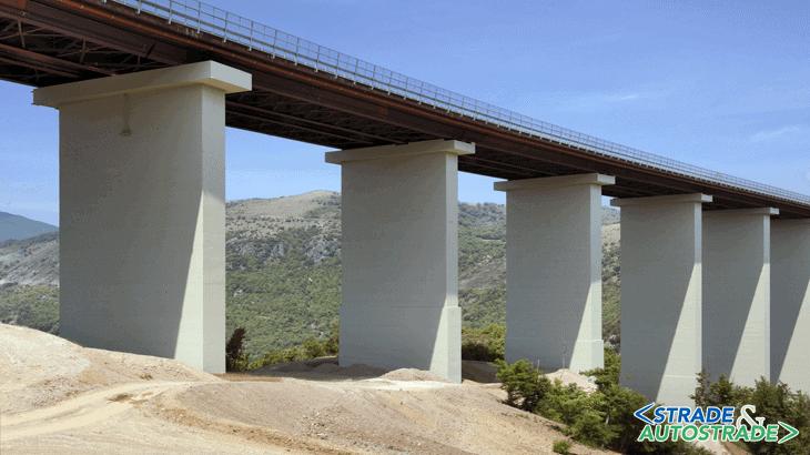 L'accesso Sud del viadotto Italia