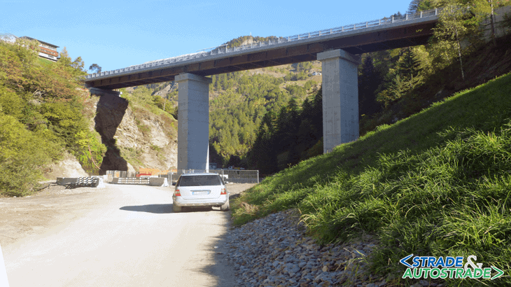 Il ponte finito