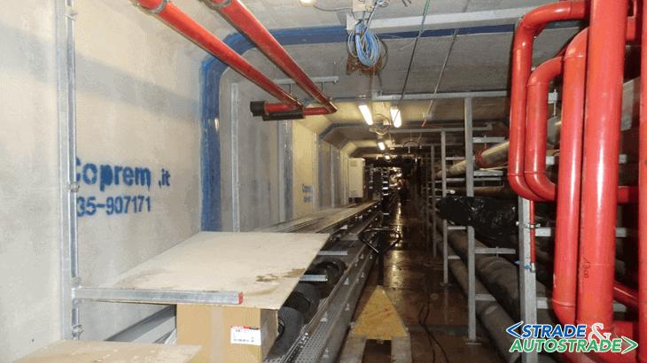 L'avanzamento dell'installazione dei vari sottoservizi