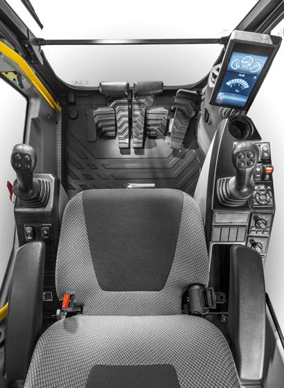 Per ulteriore comodità, funzioni quali quelle dei tergicristalli, della telecamera, del silenziamento automatico o della potenza massima, possono tutte essere assegnate ad un pulsante di scelta rapida sul joystick