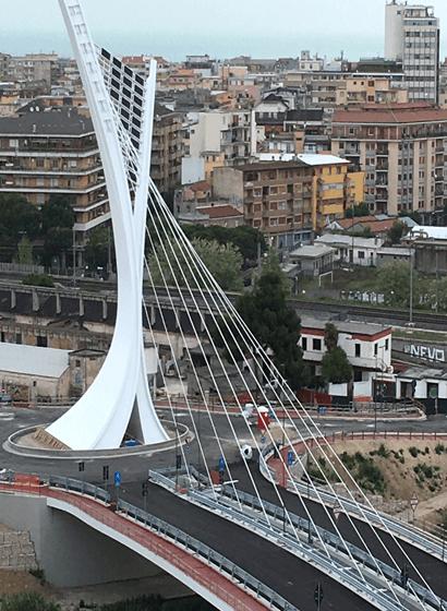 L'inserimento del ponte nel contesto urbano