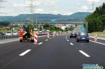 Cantieri autostradali svizzeri più sicuri