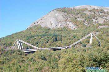 Il viadotto strallato Carpineto I