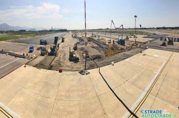 Pavimentazioni per nuove aree di sosta nell'aeroporto di Orio al Serio