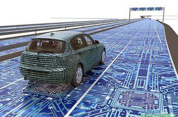 sfondo self driving car