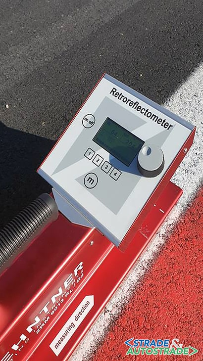 retroriflettometro