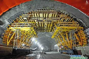 Tunnel T4 on the S7 Lubień-Rabka Zdroj