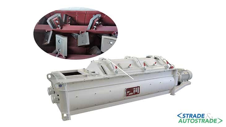 L'impianto da cantiere tre in uno: Mescolatore MEC150
