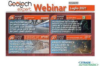Webinar GeoTech Expert: parlano gli Esperti della geotecnica e del tunnelling